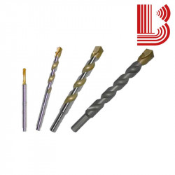 Punta oro per trapano a percussione granito da 4 mm