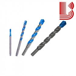Punta blu per trapano a rotazione granito da 4 mm