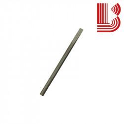 Scalpello acciaio fusto 8 mm lama 6 mm Ø7