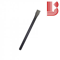 Scalpello manuale acciaio fusto 14 mm lama 20 mm 300 mm