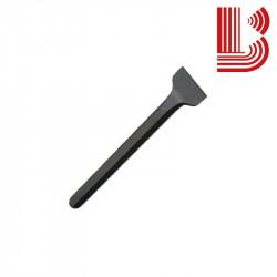 Scapezzatore acciaio fusto 12 mm lama 30 mm