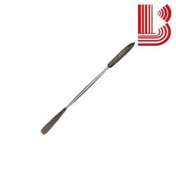 Raspa acciaio temperato con due diverse teste mod. 16