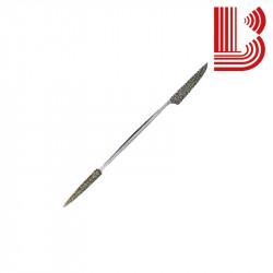 Raspa acciaio temperato con due diverse teste mod. 19
