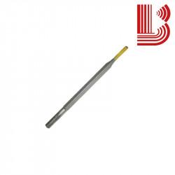 Unghietta in widia 8 mm con attacco Ø12.5 mm