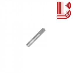 Punta per pantografo con tagliente a 120° per marmo