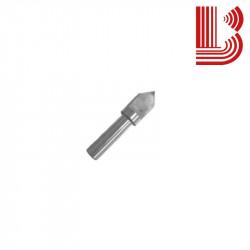 Punta pantografo 15 mm a 90° forata per marmo e granito