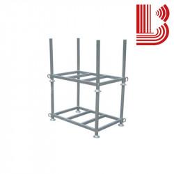 Contenitore zincato sovrapponibile (struttura)