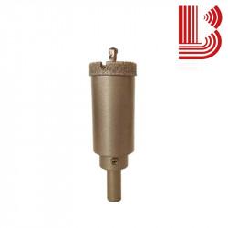 Foretto elettrodepositato 60 mm con attacco per trapano