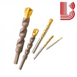 Punta a percussione tipo giallo per granito Ø4 mm