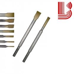 Scalpello in widia 4 mm con attacco Ø12.5 mm