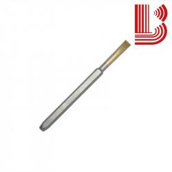 Scalpello manuale in widia 25 mm del tipo pesante