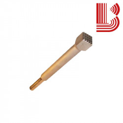 Bocciarda gambo lungo 20x20 mm e 16 denti Ø10.2x36 mm