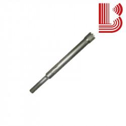 Bocciarda gambo lungo 16 mm e 4 denti attacco Ø12.5 mm
