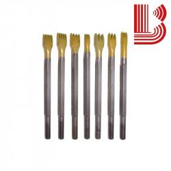 Gradina in widia 12 mm e 2 denti attacco Ø12.5 mm