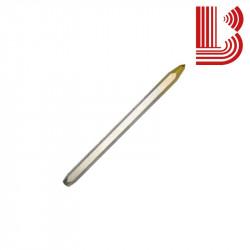 Subbia a mano punta conica manuale in widia 6 mm